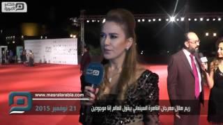 بالفيديو.. ريم هلال: انتعاش السينما يدل علي استقرار البلد