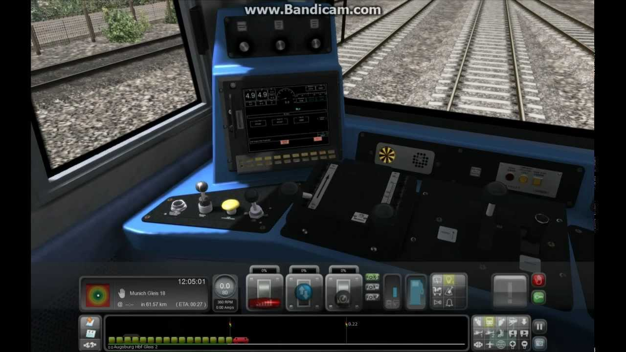 how to drive a locomotive