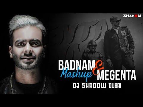 Badnam Vs Magenta | DJ Shadow Dubai | Mashup | Mankirt Aulakh Feat Dj Flow | DJ Snake