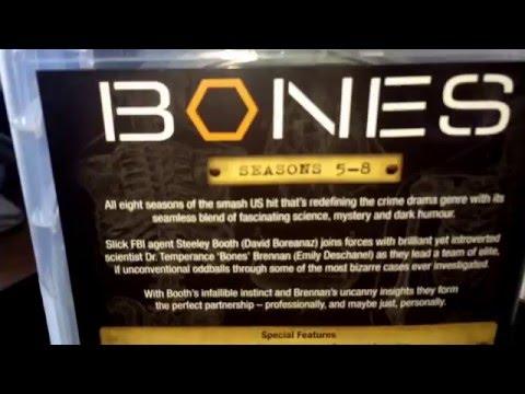Bones Dvd Collection Set Season 1 To 8