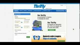 Cómo utilizar el numero de descuento corporativo de Thrifty.es
