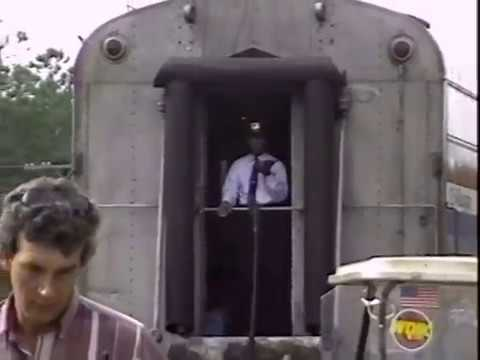 Amtrak SILVER METEOR CAB RIDE ~ JAX , FL NB  October 1993