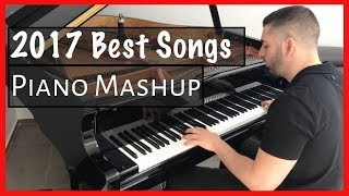 TOP HITS of 2017 in 5 minutes | Naor Yadid Piano Mashup