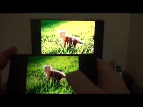 NFC ile telefondan televizyona görüntü...
