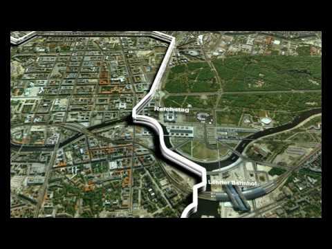 Berlin Grenzverlauf