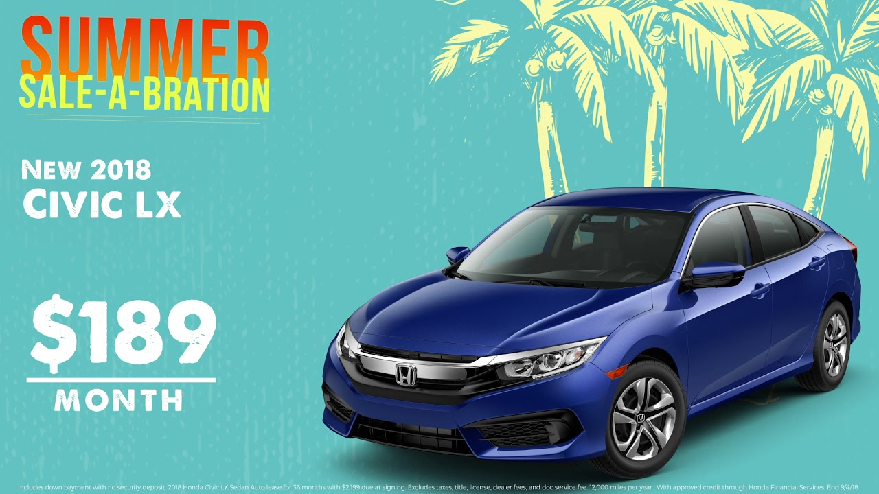 The Summer Sale A Bration Continues At Langdale Honda Of Valdosta!