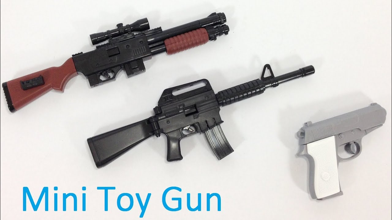 Water guns that look like real guns