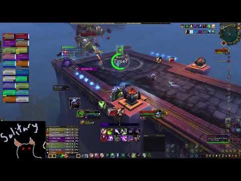 Artistic vs Mythic Stormwall - Affliction Warlock PoV