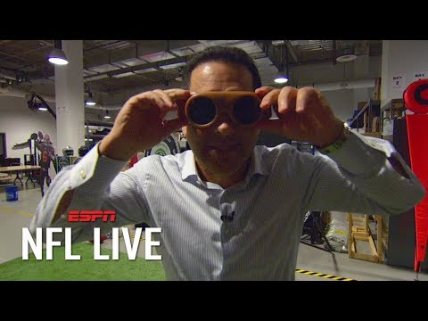 adam-schefter-attempts-to-catch-a-pass-in-50-year-old-receiving-goggles-|-nfl-on-espn