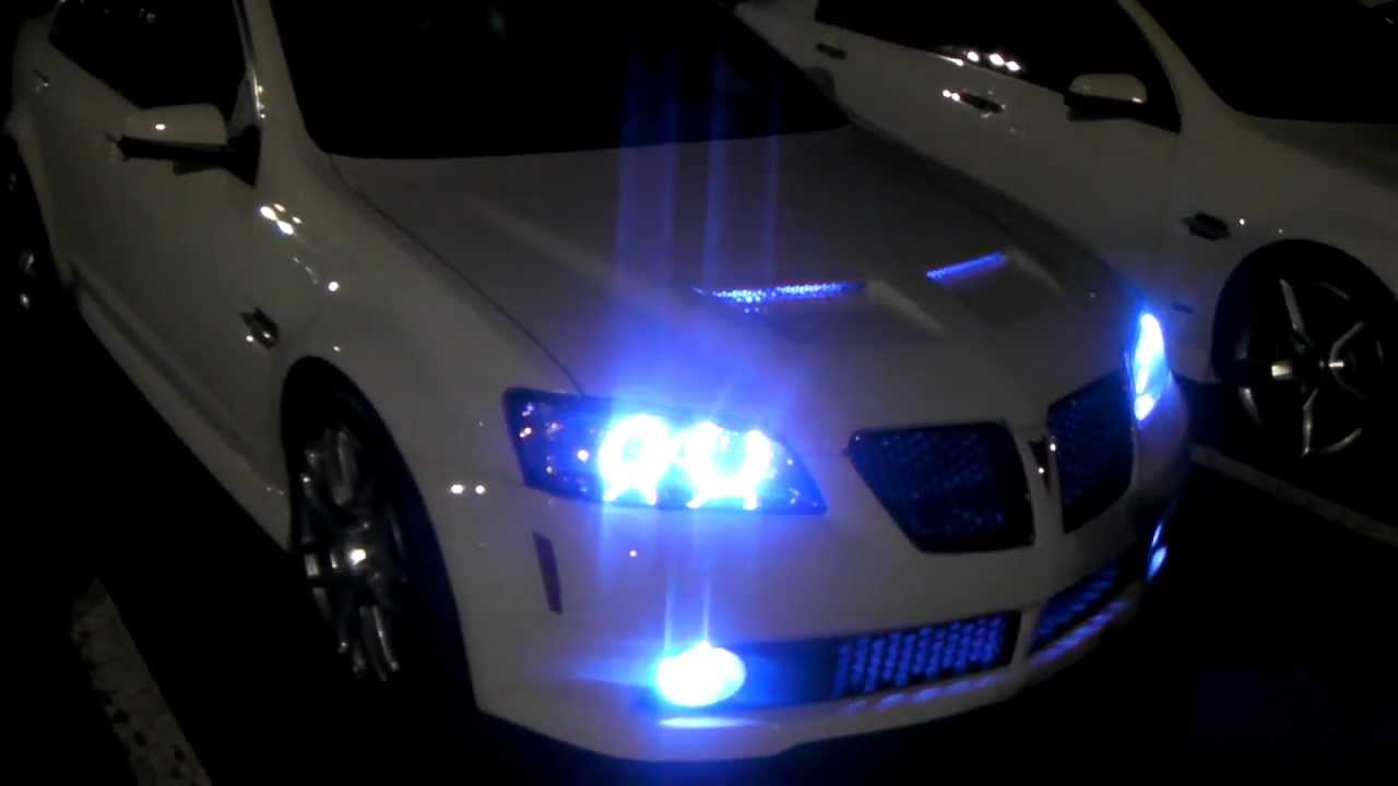 Dubsandtires Com 2008 Pontiac G8 Review 20 Inch Vossen Machined Muscle Car Wheels Asanti