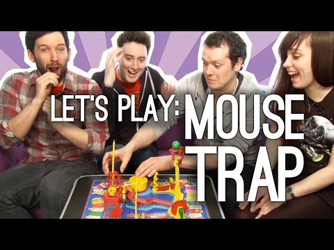 Mouse Trap Game: OXtra and OXbox Play Mouse Trap - BEWARE THE TRAPPENING!