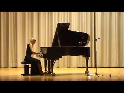 Bach - Prelude and Fugue BWV 849 (Jamina Gerl)