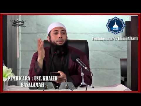 SIMAK INI Khusus Suami Istri Yang Sering Ribut Hebat Ustadz Khalid Basalamah Terbaru