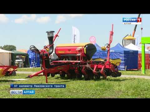 «День сибирского поля»: в Павловский район приехали 240 компаний из России и зарубежья