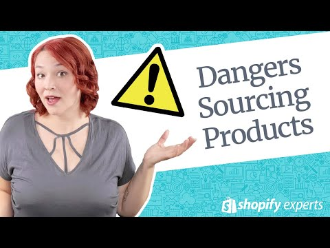Dangers of Sourcing Products When Dropshipping thumbnail