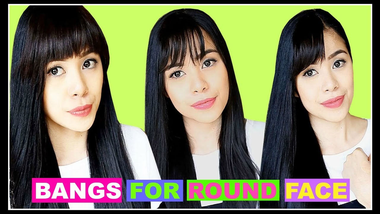 How To Bangs For Round Face Tips To Find The Right Bangsfringe For