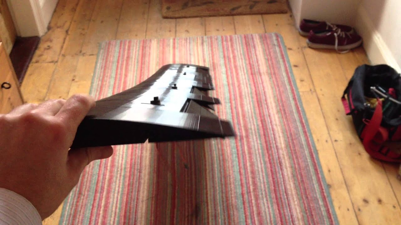 Glider Plane 3d Printed Plane Wing With Ailerons And Flaps (2 Metres