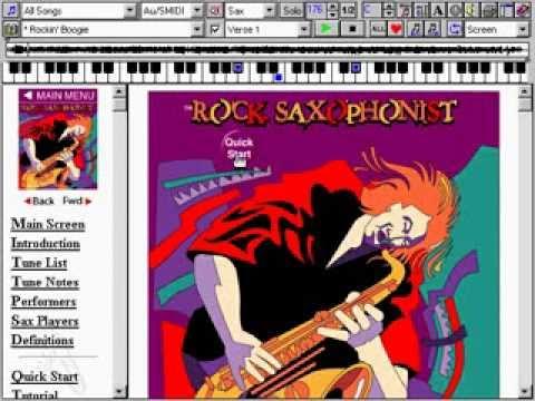 The Rock Saxophonist