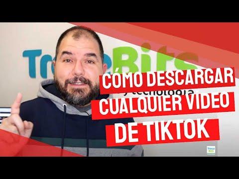 Cómo descargar CUALQUIER vídeo de TikTok