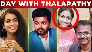Sarkar Shooting experience with Thalapathy Vijay | Abitha Opens Up