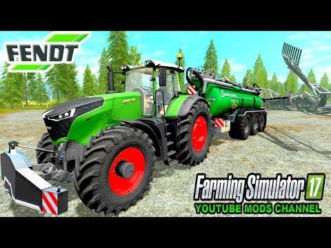 Farming Simulator 17 Mods FENDT 1000 Vario Series & Samson PG27 Slurry Spreader
