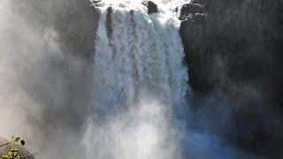 Путешествие по США. У водопада, где снимался сериал Твин Пикс .
