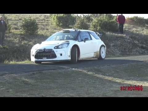 Tests Days Loeb DS3 WRC