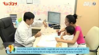 Chăm sóc trẻ tiêu chảy tại nhà nhu the nao