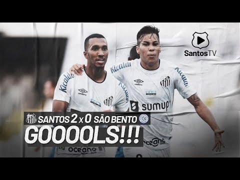 SANTOS 2 X 0 SÃO BENTO | GOLS | PAULISTÃO (09/05/21)