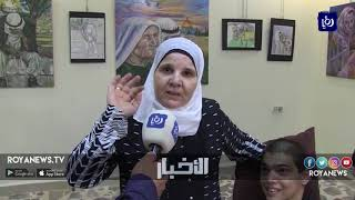وليد أبو البندورة .. فنان يتحدى الإعاقة ويرسم بشغف