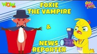 Foxie The Vampire | News Reporter- Eena Meena Deeka - Animated cartoon for kids - Non Dialogue