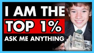 A rich kid, the top 1% of the 1%, defends his INSANE family wealth when questioned!