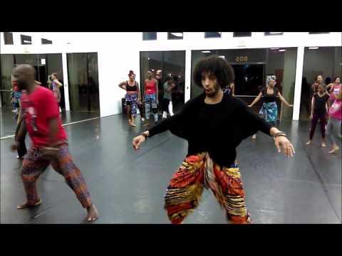 The Arts: Afrique Gninz Presents Jean-Claude Lessou African Dance Class 10/Feb/17