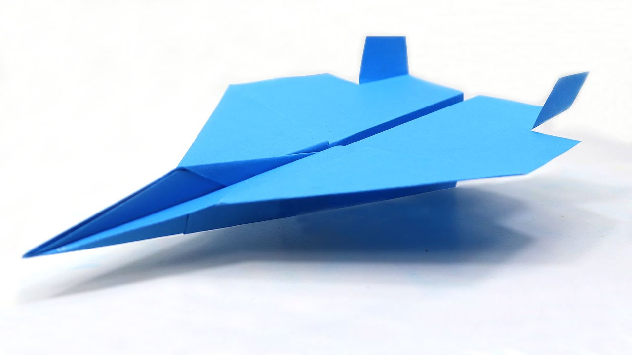 Download How to Make EASY F-15 Paper Airplane - Amazing Paper Jet Tutorial