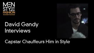 David Gandy Interview - Capstar Chauffeurs Him in Style