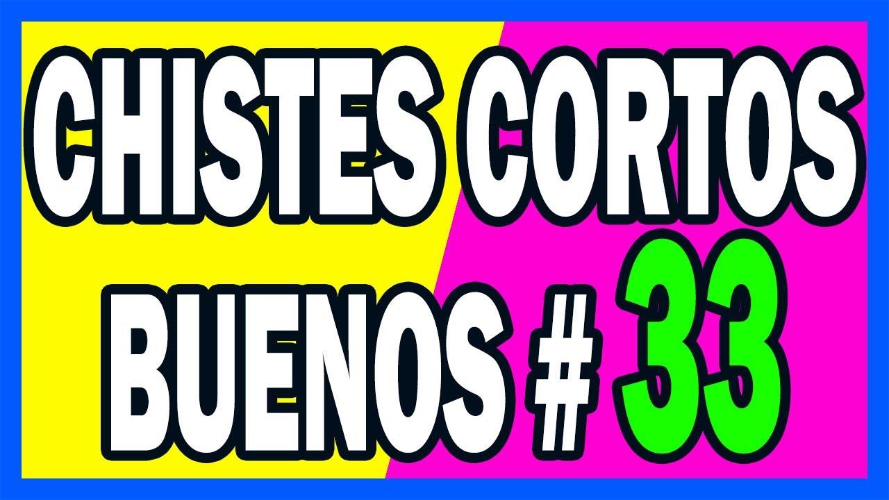 🤣 CHISTES CORTOS BUENOS # 33 🤣