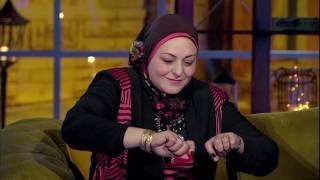 سليمان عيد وزوجته يلعبون مع مادي وشيماء لعبه التوافق والصور.