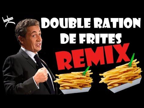 Nicolas Sarkozy - DOUBLE PORTION OF FRIES (POLICY REMIX)