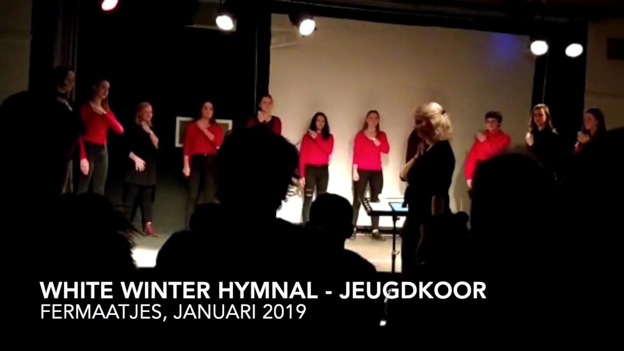 White winter hymnal - Jeugdkoor Fermaatjes