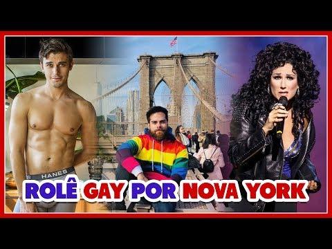 Rolê GAY por NY: ANTONI do QUEER EYE  AIS + GAYS da Broadway  SLEEP NO MORE - Põe Na Roda
