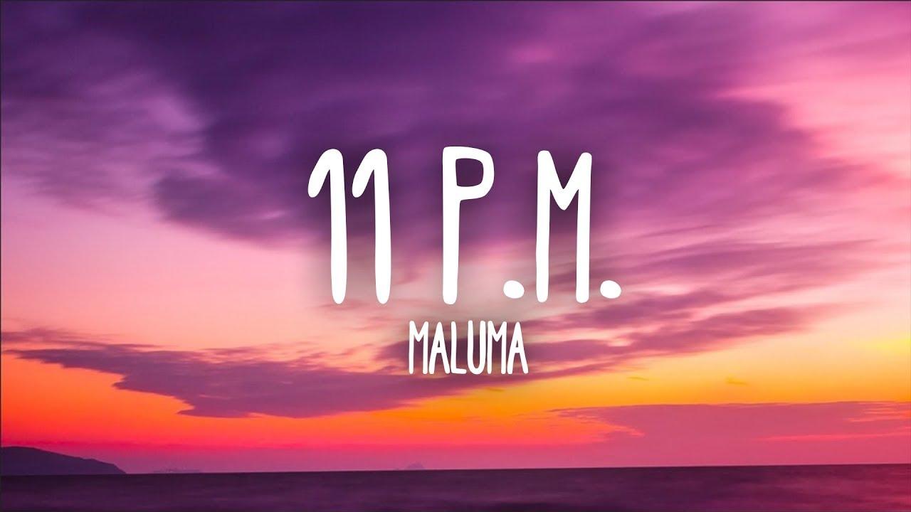 Download Maluma - 11 P.M. (Letra)