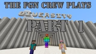 The FGN Crew Plays: Minecraft Diversity Part 1 - Off with their head (PC)