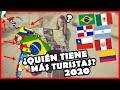 Los PAÍSES más VISITADOS de Latinoamérica 2020 (TURISMO) | El Peruvian