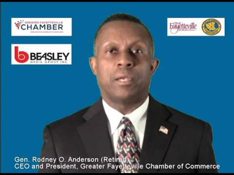 Gen. Rodney Anderson - CEO and President, Greater Fayetteville Chamber of Commerce