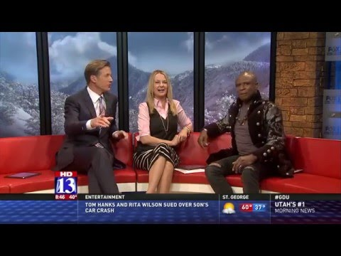 SATURDAY'S WARRIOR Movie | Alex Boye Interview | Fox 13's Good Day Utah
