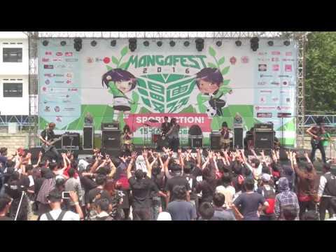 DXD ft. Beat Metal  at Mangafest 2016, Yogyakarta, Indonesia