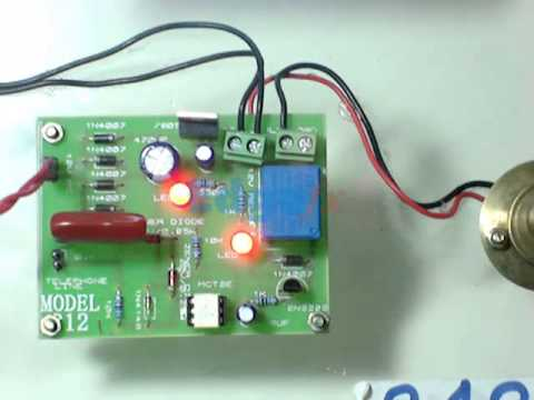 Superb Light Flashes When Phone Rings | Final Year Electronics Projects