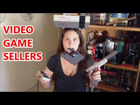 VIDEO GAME SELLERS Mini Ep. - GAMER BEGINNINGS | Scottsquatch