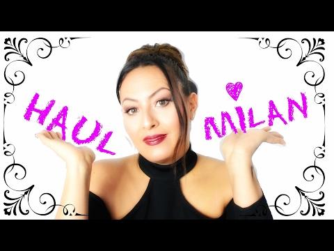 Haul Milan ✈️SPECIAL SOLDE 👠PRIMARK 💄WICON👗NYX👛H&M