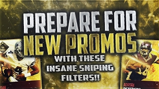 NEW MADDEN MOBILE SNIPING FILTERS TO PREPARE FOR ULTIMATE TICKETS, EASTER, AND OTHER FUTURE PROMOS!!